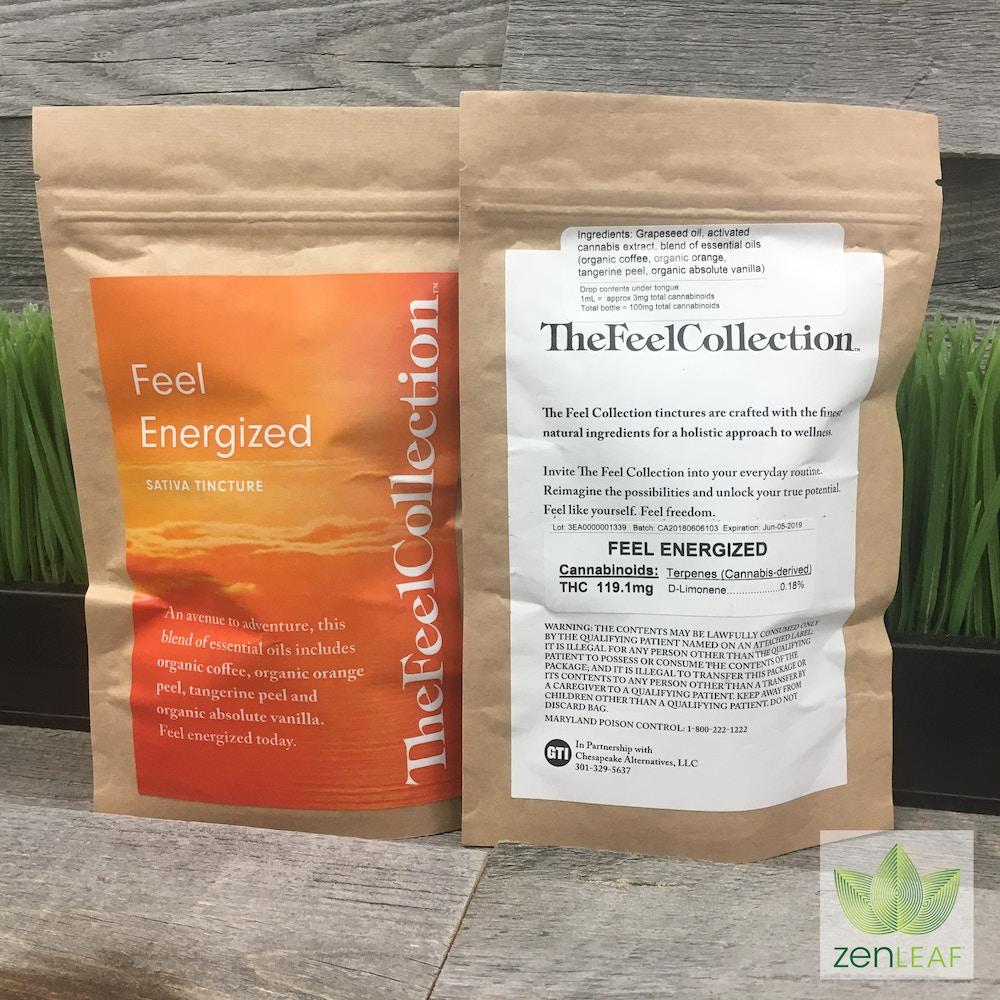 Feel Energized Sativa Tincture - Zen Leaf - Waldorf