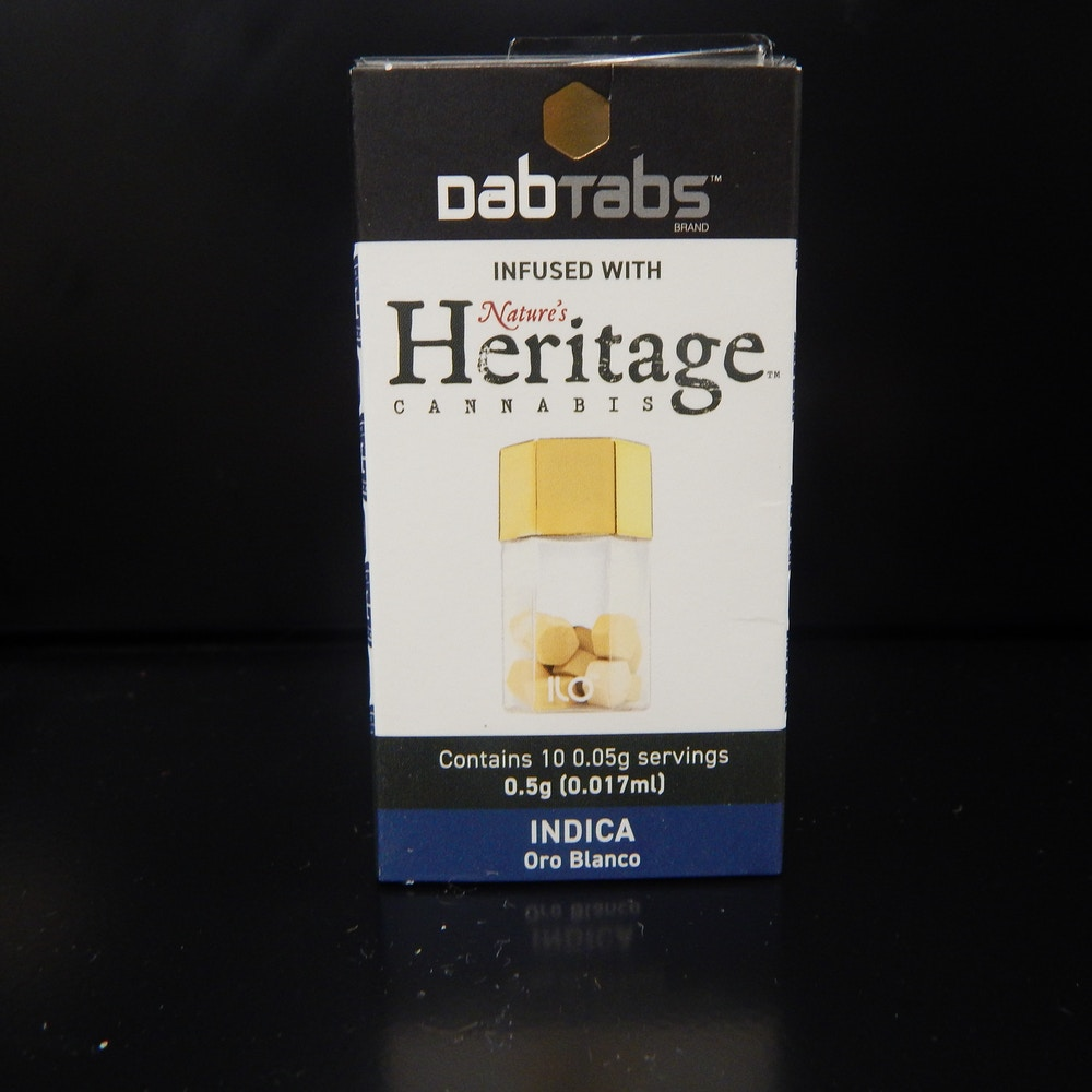 Oro Blanco Dab Tabs - Green Point Wellness - Medical Marijuana Menu