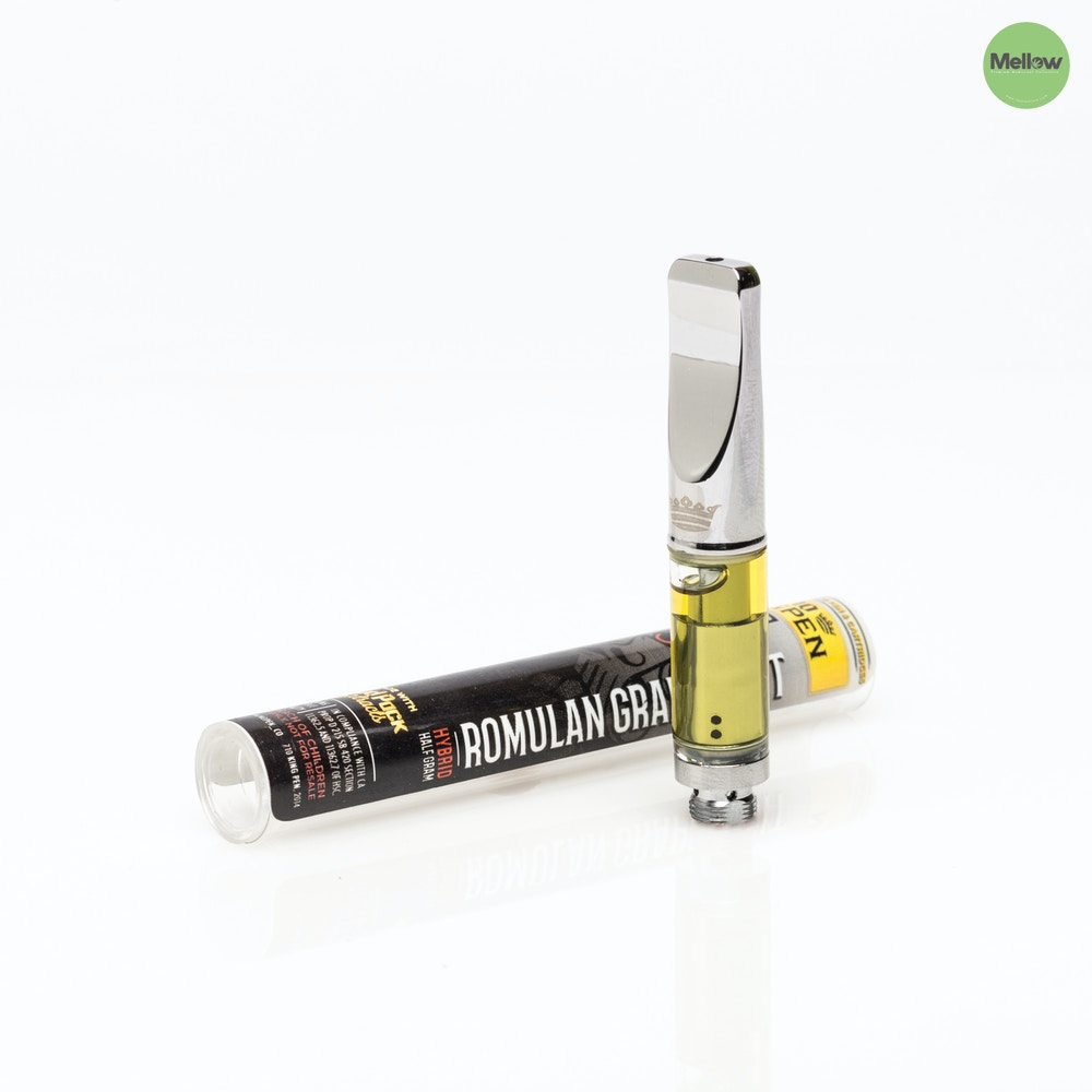 Romulan Grapefruit Vape Cartridge - Mellow - Medical Marijuana Menu