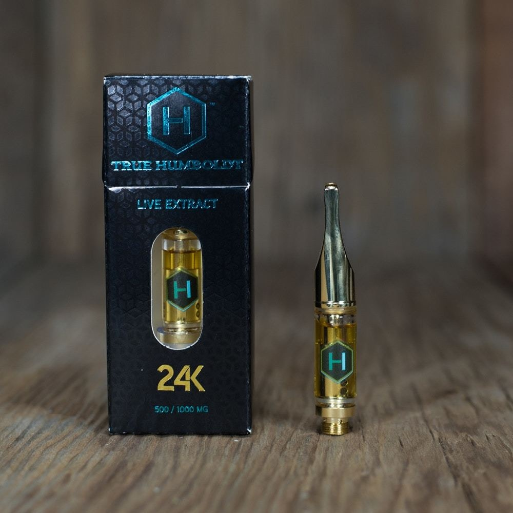 24K Live Extract Cartridge (AC/DC) - Phytologie - Medical