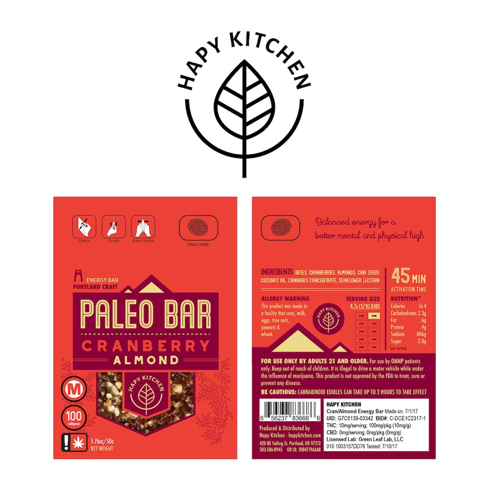 Recreational cranberry almond paleo bar by hapy kitchen for Primal kitchen south bend