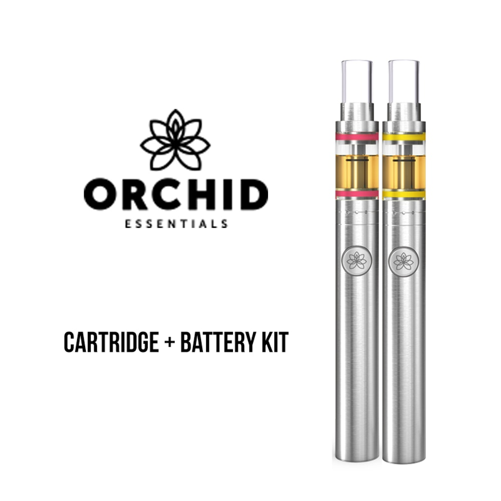 Strawberry Cough Cartridge Kit (Battery Included) by Orchid