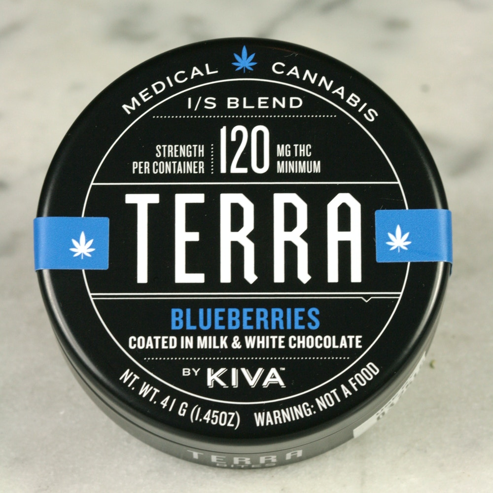 Chocolate Covered Blueberry Edibles