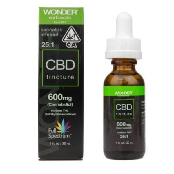 25:1 CBD Tincture - Airfield Supply Company - Medical Marijuana Menu